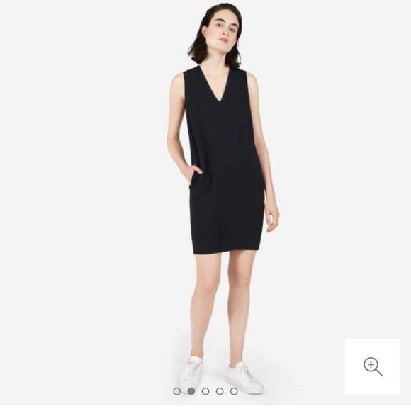 407a97ba5d9f Everlane Dresses & Skirts - Everlane Japanese GoWeave Sleeveless V-neck  Dress